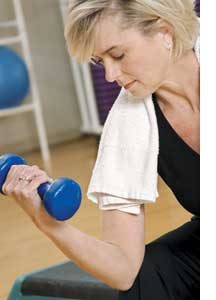 lifting too much weight with your arm can cause tendinitis