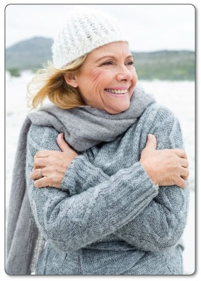 Applying cold constricts your blood vessels decreasing fluid retention and swelling in tissue.