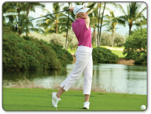 Good game of golf ruined by tendon pain?