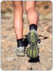 Excessive upward motion on your toes can damage your plantar plate.
