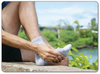 If you suffer from pain under your big toe you might have sesamoiditis