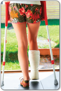 Your doctor may want to cast your foot to heal a fracture in the sesamoid bones.