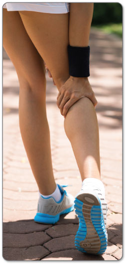 Use ice and heat to deal with your strained tendon.